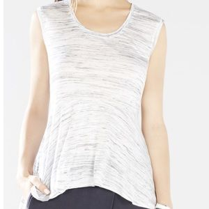 NWT BCBG Barbra Top Size Medium Heathered Gray